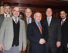 Robert Eckardt, Michael Mauldin, Greg Sadlek, Ozen Yula, Ronn Richard, and Raymond Bobgan
