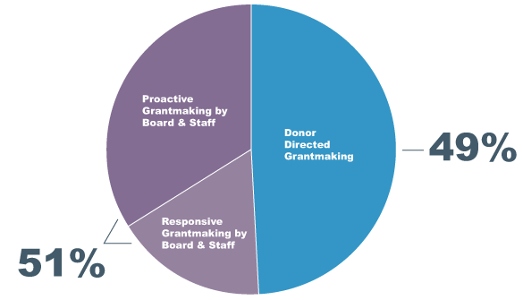 Our Grantmaking Pie Chart