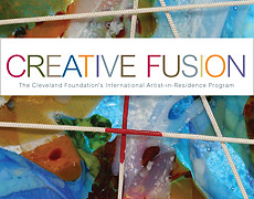 Detail of Creative Fusion brochure cover
