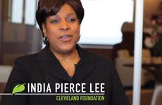 India Pierce Lee discussing Evergreen Cooperatives