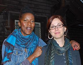 Nandi Mntambo and Arzu Ozkal