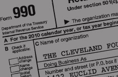 Detail of financial form
