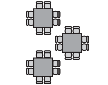 Conference Center Table Configuration 2