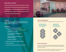 Conference Center Brochure