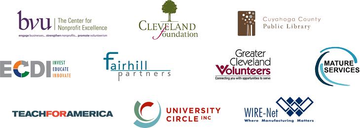 Logos of Encore Cleveland Partner Organizations