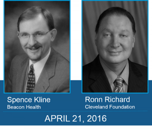 Spence Kline Beacon Health Ronn Richard Cleveland Foundation portraits