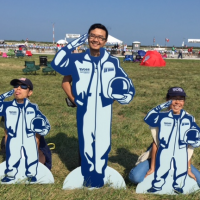 Kuen-Lin at the Cleveland Air Show