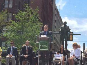 Cleveland Foundation CEO Ronn Richard at Cleveland Public Square