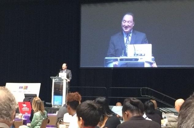 Ronn Richard at the Sustainability Summit