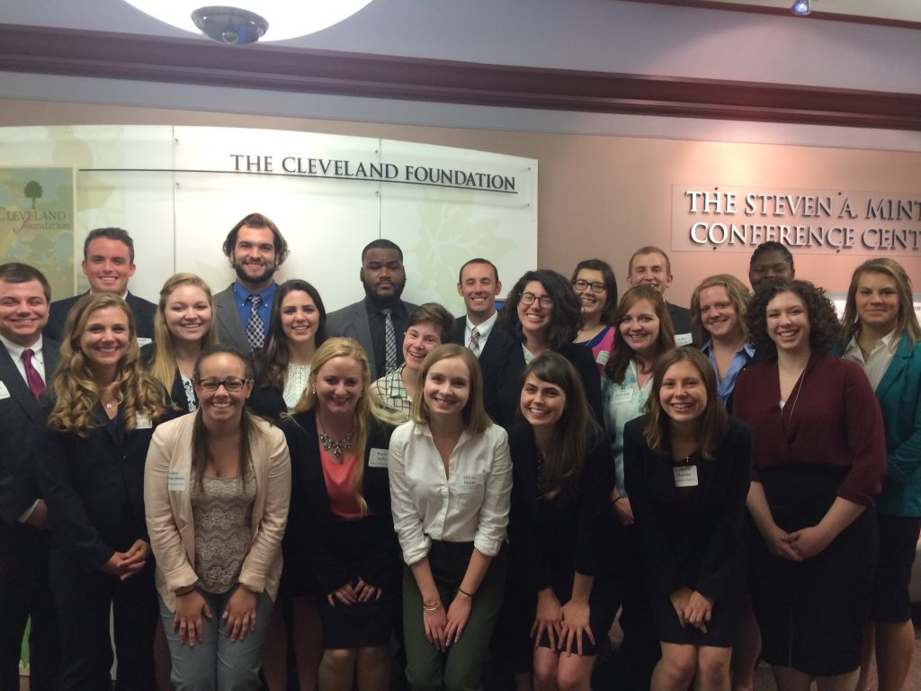 Cleveland Foundation 2016 Summer Interns