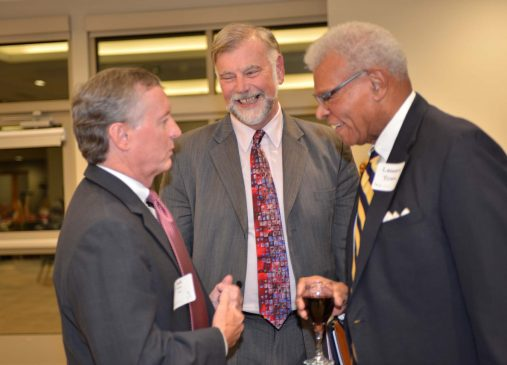 Jack Binder, Bob Eckardt and Encore Fellow and panelist Leonard Young.