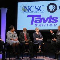 Tavis Smiley Courting Justice Forum in Cleveland