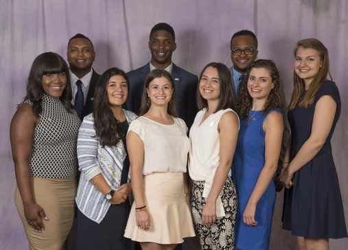 Group portrait of Cleveland Public Service Fellows