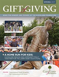 Cleveland-Foundation - Gift-of-Giving - 2017-Spring-Cover