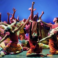 Young dancers from the Creative Arts Academy perform on stage