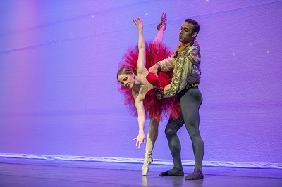 Verb Ballet dancers perform Don Quioxte at Annual Meeting