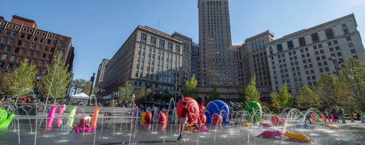 Centennial Plaza Fountain