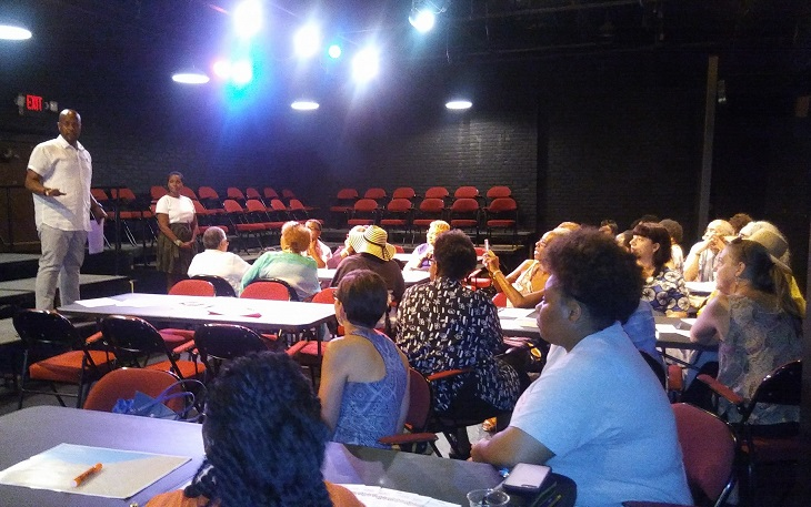 Karamu House hosted a conversation focused on placemaking and the arts.  (Photo credit: Karamu House)