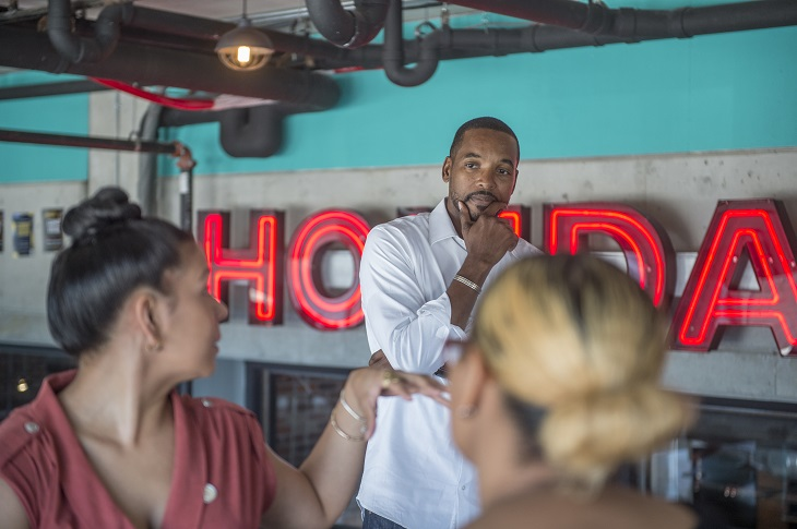The Cleveland Community Police Commission hosted a brunch conversation at Punch Bowl Social, to explore empowerment and the feelings that drive positive change in communities.