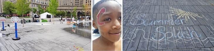 Scenes from Summer Splash on Public Square