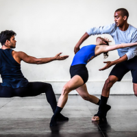 Malpaso dancers perform in rehearsal space