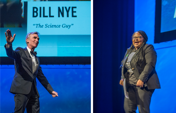 "Bill Nye ""The Science Guy"" with Shanelle Smith delivers the Robert D. Gries Keynote Lecture."