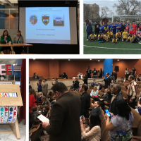 A collage of images showing moments from the 2019 Sister Cities Conference