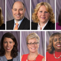 collage of 11 staff portraits
