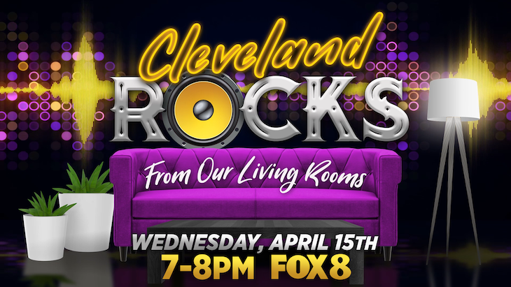 Cleveland Rocks from our Living Rooms graphic