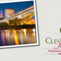 Cleveland Foundation organizational fund partner graphic with Cleveland skyline