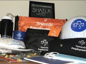 Towards Employment Swag Items