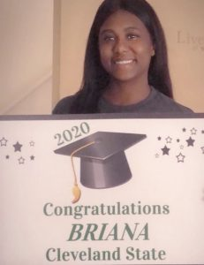 Bri Oldham graduation card