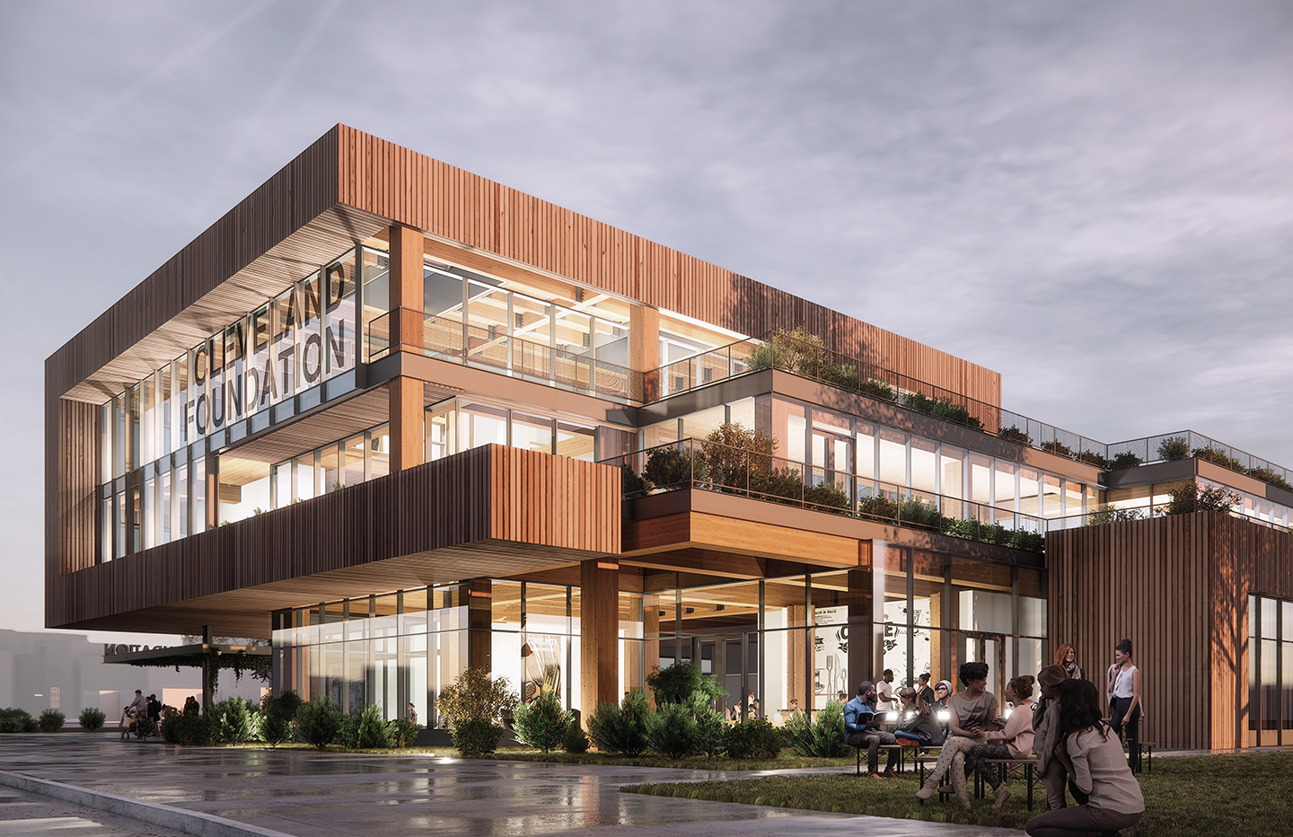 Cleveland Foundation headquarters rendering
