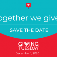 Save the date for Giving Tuesday 12/1