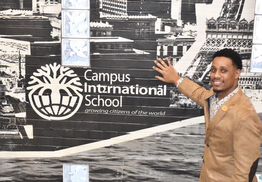 Marsalis Hammons at Campus International School