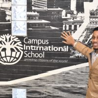 Marsalis Hammons at Campus International School