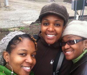 Erika, Ebony and Marcia Hood