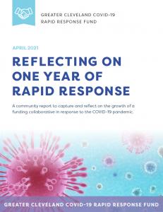 Rapid Response Fund Community Report Cover Image
