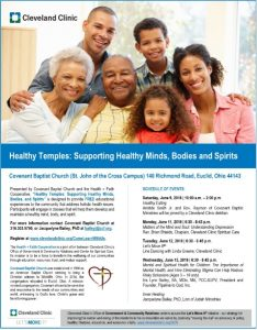 A flyer from the Cleveland Clinic